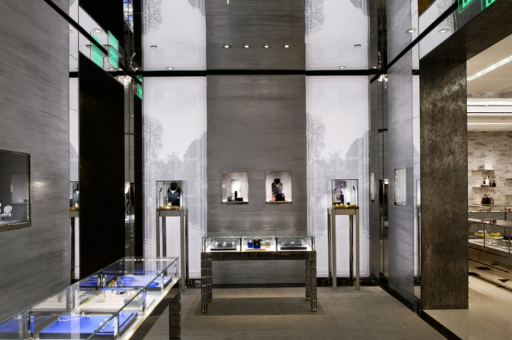 The Interior Design Has Been Entrusted Renowned Architect Peter Marino And Similar To Other Dior Boutiques Takes Cues From Luxury Brands