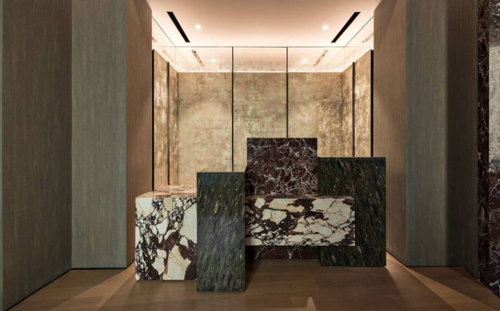 fendi private suits by marco costanzi rome italy retail design blog