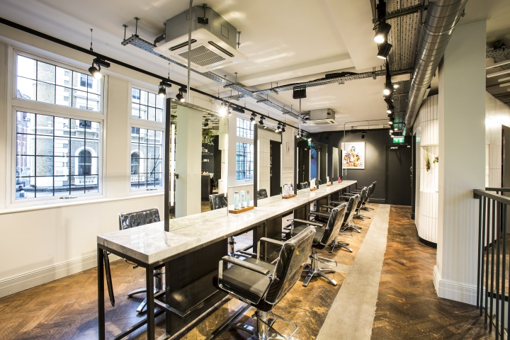 George northwood colour studio by reis design london for A design and color salon