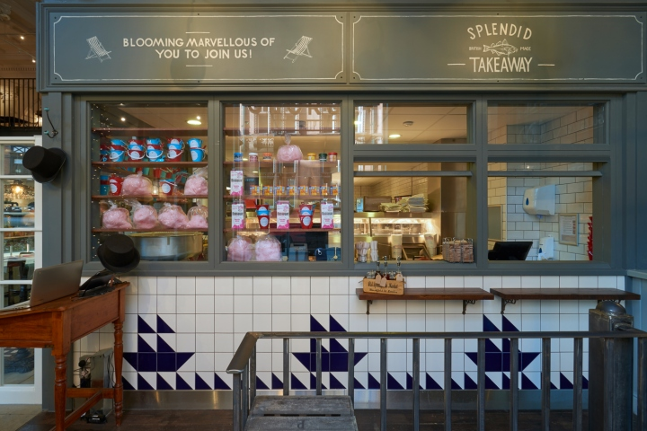 Fish Restaurants George S Tradition Fish Chips By Philip Watts Design London Uk