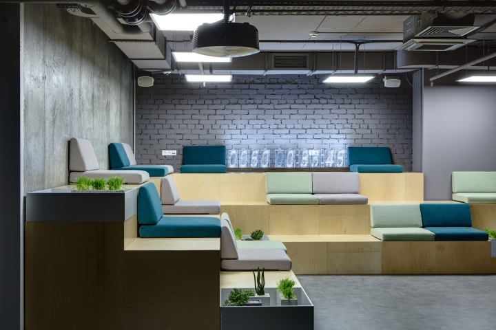 Bueno en caso Adelante  HUB 4.0 office by Nika Vorotyntseva, Kiev – Ukraine