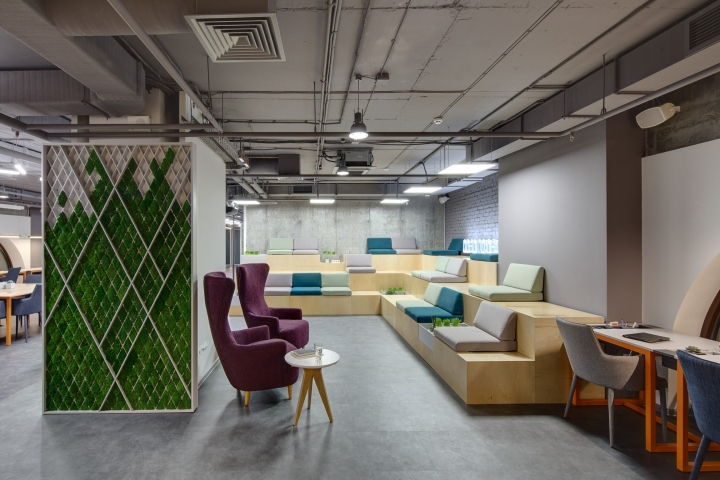 Hub 4 0 retail design blog for Office working area design