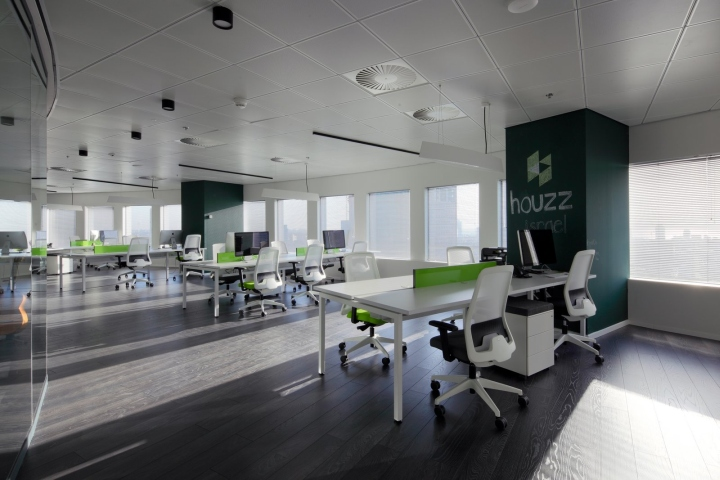 Houzz offices by ng interior design tel aviv israel for Office design houzz