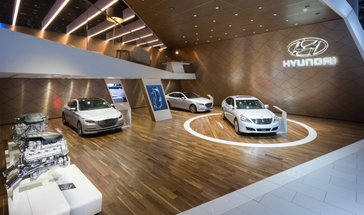 Hyundai exhibition at the 2015 laas by czarnowski los - Interior design school los angeles ...