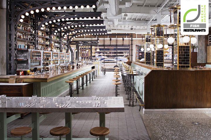 Fish Restaurants! Ironside Fish & Oyster restaurant by BASILE Studio