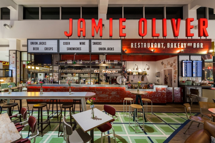 Jamie s italian restaurant at gatwick airport by
