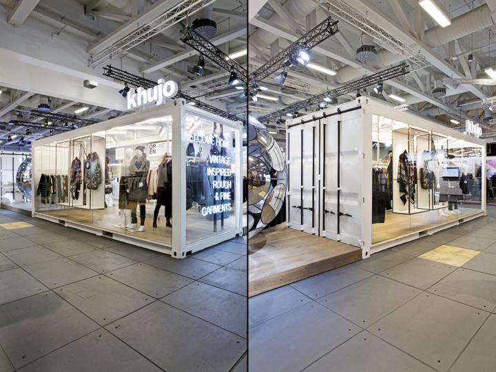 khujo booth at panorama berlin 2016 by werkstatt65 berlin germany retail design blog. Black Bedroom Furniture Sets. Home Design Ideas