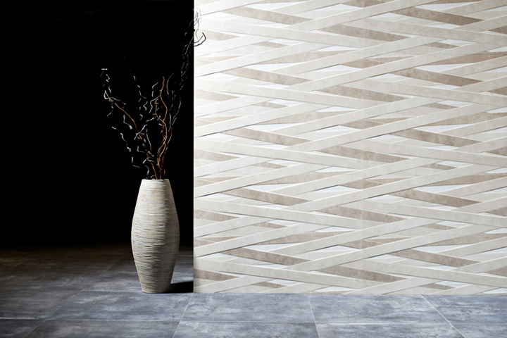 Laccio ceramic tile series by Dsignio for Peronda Group