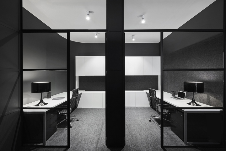 Lechte corporation office fitout by plus architecture for Home office fitout
