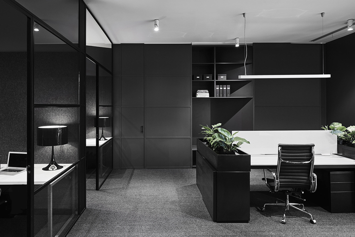 Lechte corporation office fitout by plus architecture - Despachos modernos ...