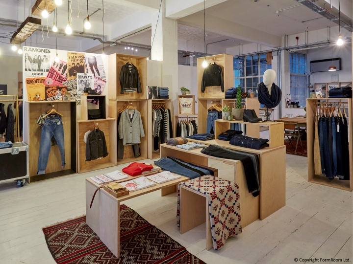 Levi S Showroom By Formroom London Uk Retail Design Blog