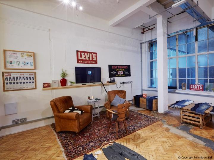 Levis Showroom By FormRoom London UK Retail Design Blog