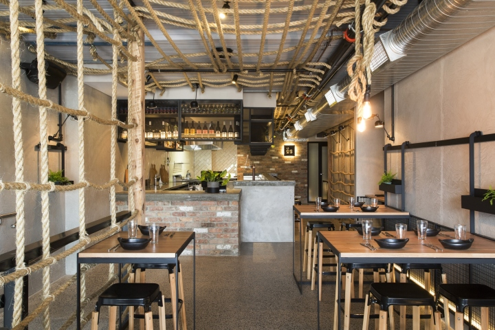 Little oscar restaurant and bar by biasol design studio melbourne australia - Bar cuisine studio ...