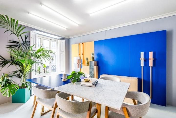 Color In Interior Design Concept masquespacio office interior & branding » retail design blog