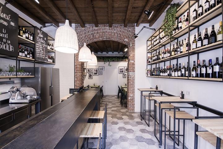 Muddica restaurant deli by studio didea milan italy