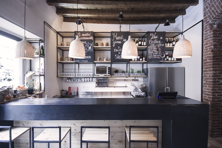 187 Muddica Restaurant Amp Deli By Studio Didea Milan Italy