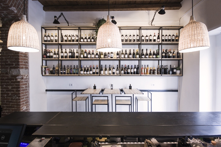 Muddica Restaurant Amp Deli By Studio Didea Milan Italy