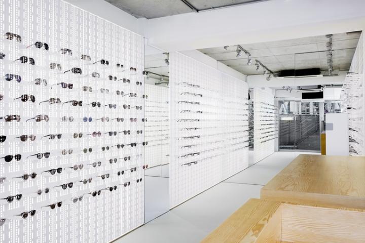 Mykita Eyewear Store Tokyo Japan Retail Design Blog