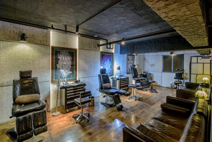 Tattoo Studio: » QG Tattoo Studio By ARCHETYPE Design Studio, Chengdu