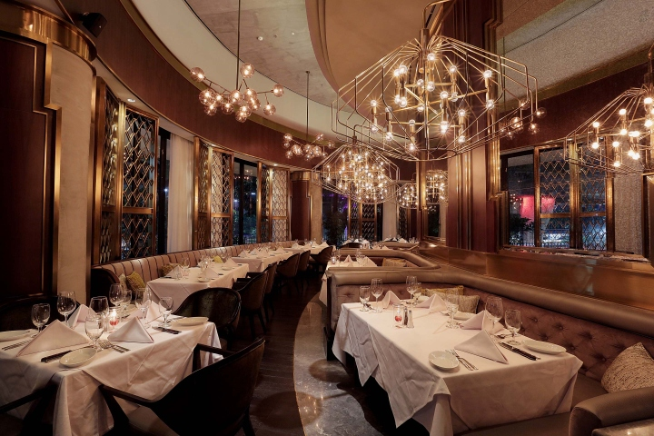 Ruth chris steak house somersetapartment by metaphor for House interior design jakarta