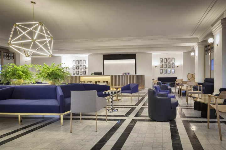 Illuminationworks creates the lighting design that support the merging of  hospitality and retail functions in the heart of Selfridges  an iconic  London  Selfridges International Service Lounge Lighting Scheme by  . Lounge Lighting. Home Design Ideas