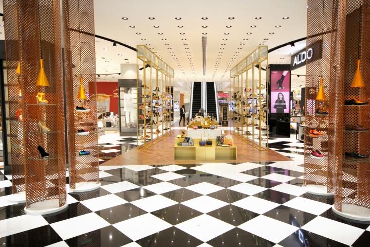 阿联酋鞋商场终端形象设计