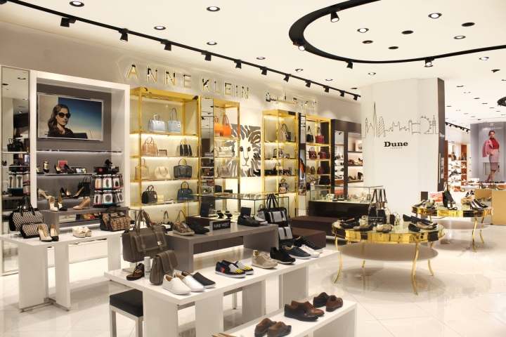 Shoe Gallery At YAS Mall By Mynt Design Abu Dhabi UAE