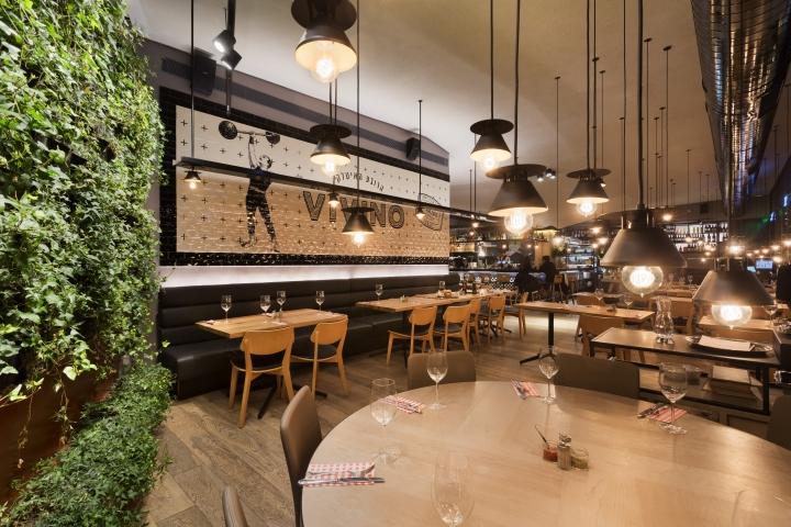 Vivino italian quarter restaurant by studio gad haifa