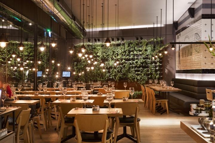 Restaurant Design Quarter : Vivino italian quarter restaurant by studio gad haifa