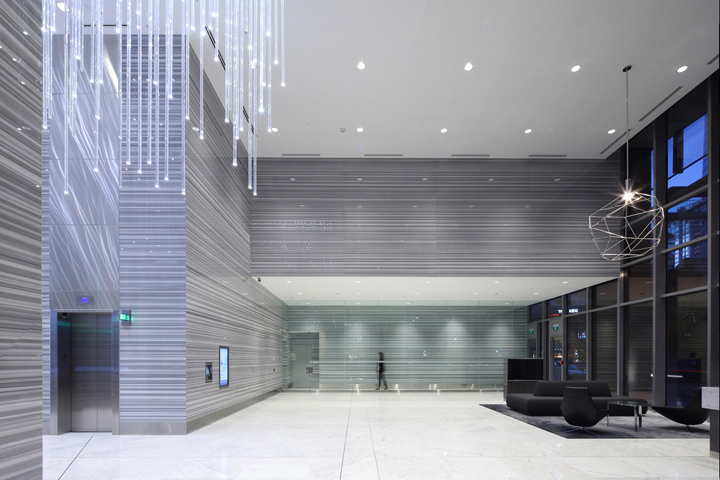 187 745 Thurlow Office Tower Public Spaces By Mcm Interiors