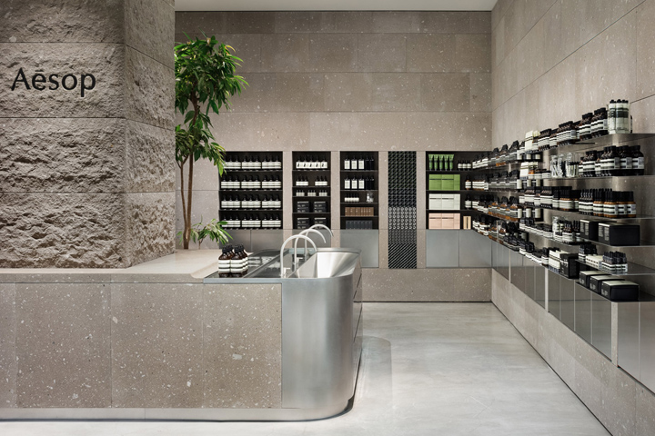 office ceiling tile ideas - aesop Retail Design Blog