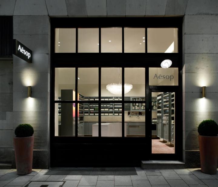 Aesop Store Facade