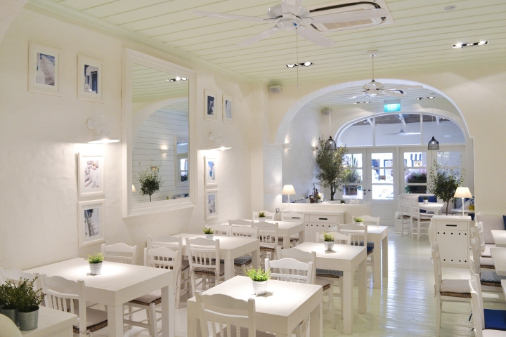 Alati Restaurant By Zisis Papamichos Singapore Retail Design Blog