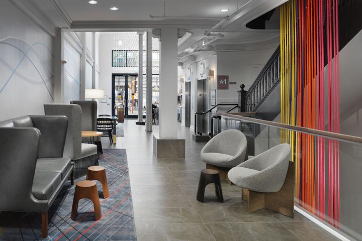 Axiom hotel by stonehill taylor san francisco for Design hotel san francisco
