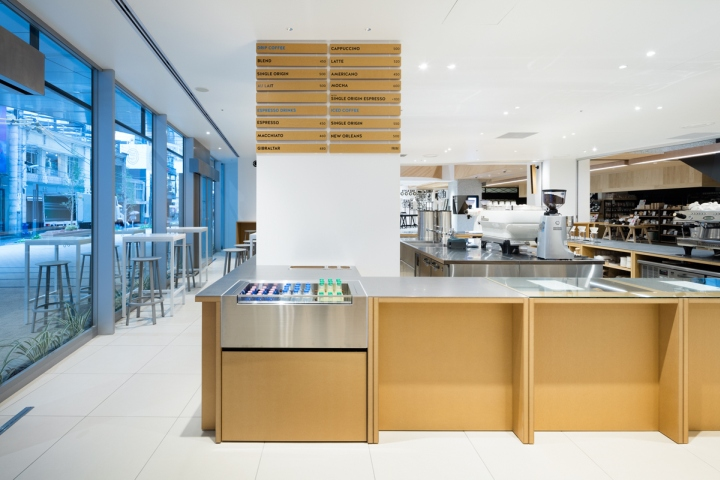 187 Blue Bottle Coffee Shinjuku Cafe By Schemata Architects
