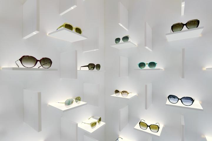 abfad54381 Bolon Eyewear store by Ippolito Fleitz Group