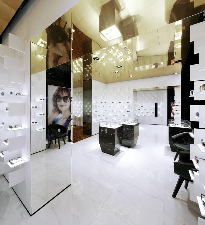 cad54d7384 » Bolon Eyewear store by Ippolito Fleitz Group