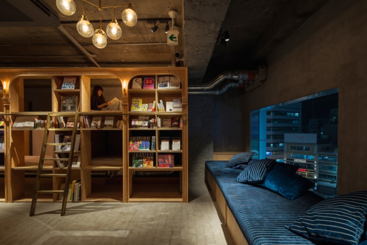The Interior Design Has Been Created By Hiroshima Based Practice Suppose Office And Abundance Of Books Mind You Theyre Both Japanese