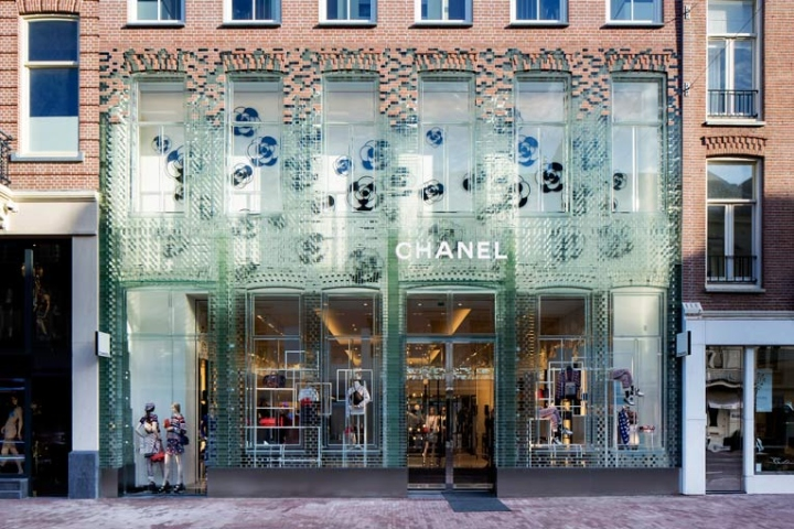 Image result for chanel store amsterdam crystal houses
