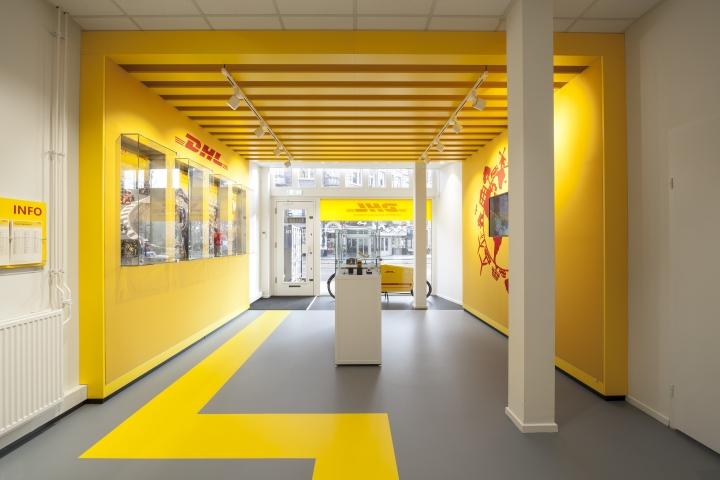 187 Dhl Store By Tchai International Amsterdam Netherlands