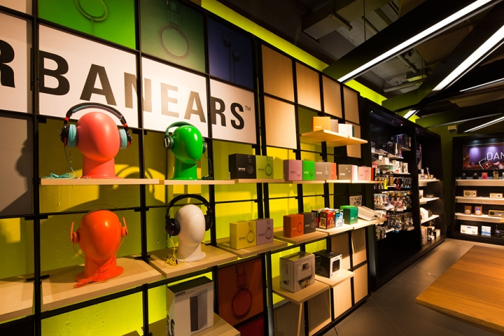 The Store Is Divided Into Two Main Areas One For Browsing And Hands On Demonstrations Other Self Service Shopping
