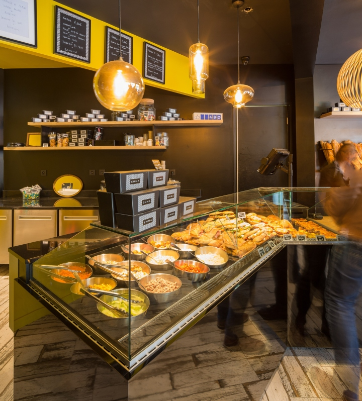 Emma pastry & bakery by Agence Thomas Lavigne, Nantes – France » Retail Design Blog