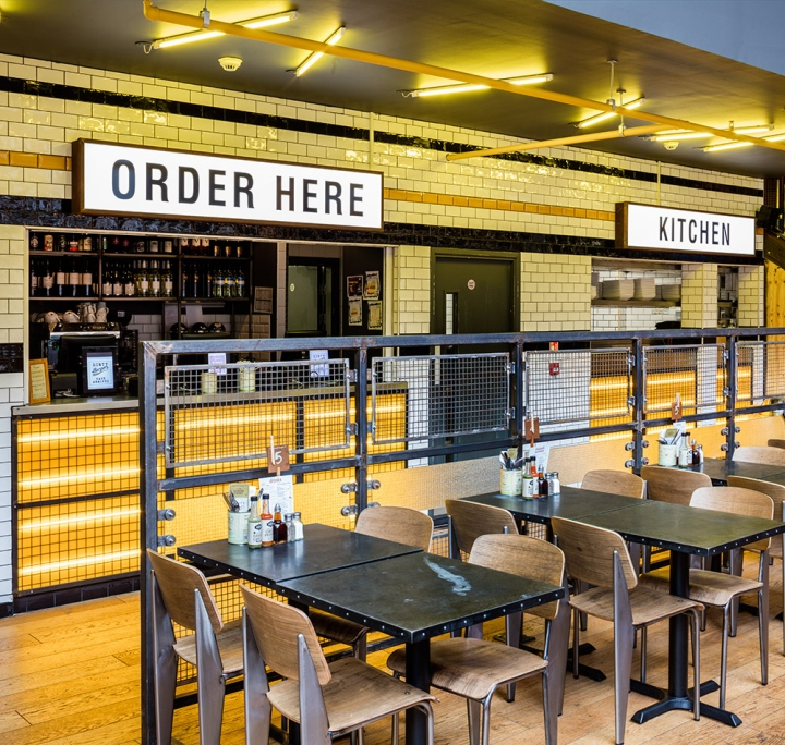 Commercial Lighting Glasgow: » Handmade Burger Co By Brown Studio, Glasgow