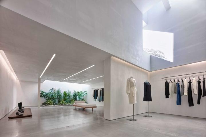 subtle lighting. Helmut Lang Store By Standard Architecture, Los Angeles \u2013 California Subtle Lighting N