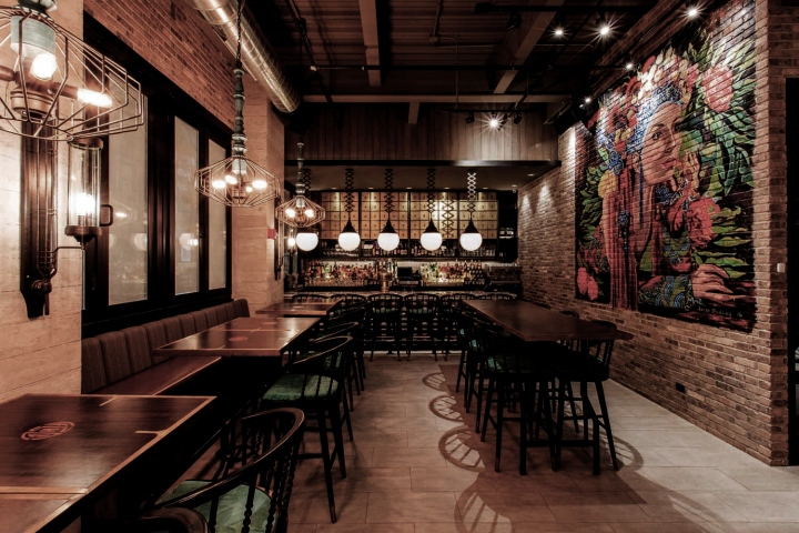 Imperial Lamien Restaurant By Metaphor Interior Chicago Illinois Retail Design Blog