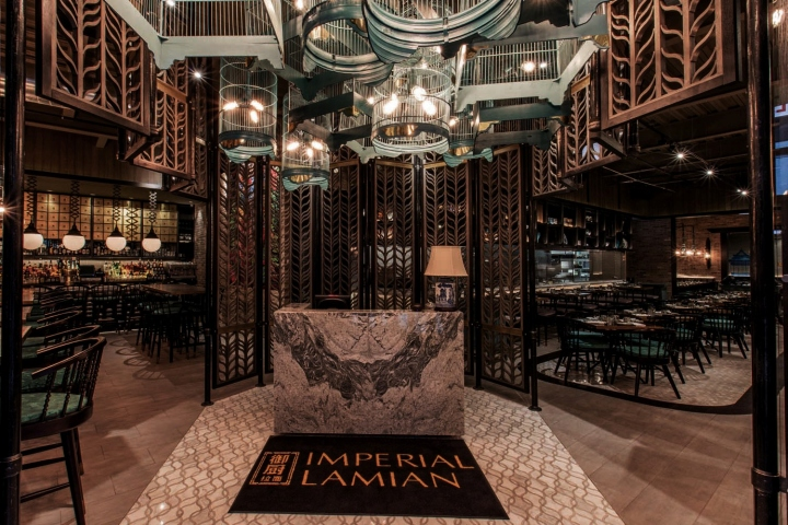 USA Chicago Imperial Lamien The Concept Was All About Chinese Vintage Combine With Modern Art Ambience That We Can Feel From This Interior Design