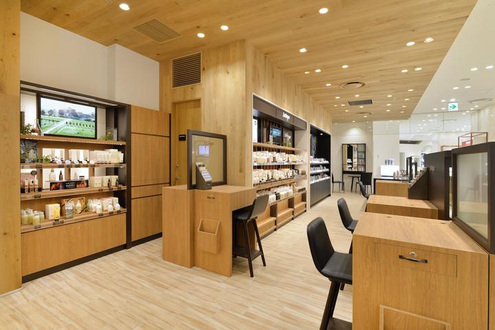 Beauty health retail design blog for Office design japan