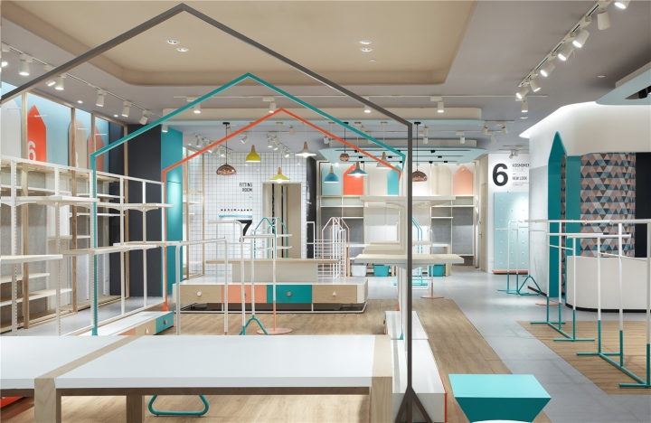 Kidsmoment by rigidesign wuhan china retail design blog for Retail store layout software