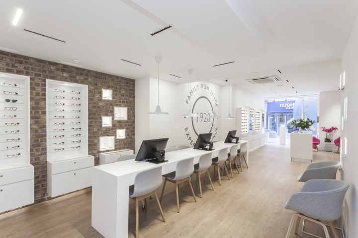 SKK Design Were Asked By Leightons Opticians Hearing Care To The Interior Of Their New Branch In Reading England With Brief Creating An