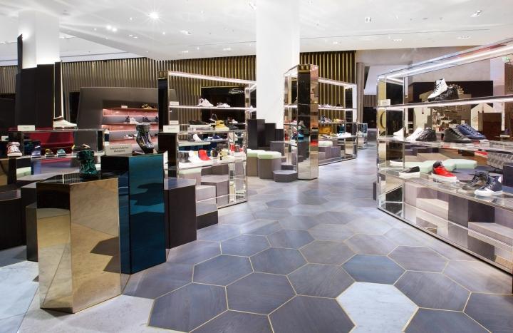 Level Shoe District Mens Department By Shed Dubai Uae Retail Design Blog